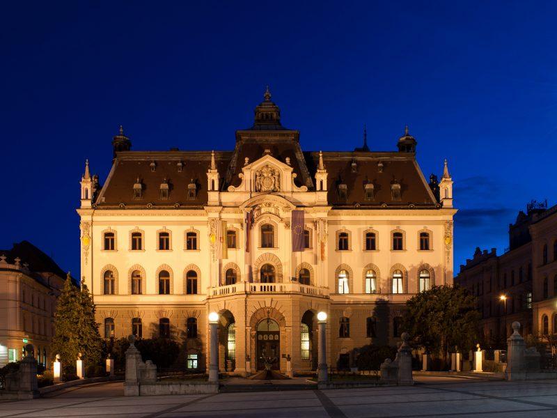 University of Ljubljana, headquarters, rectorate building, PEOPLE project, Erasmus+, PEOPLE kick-off meeting, IRI UL