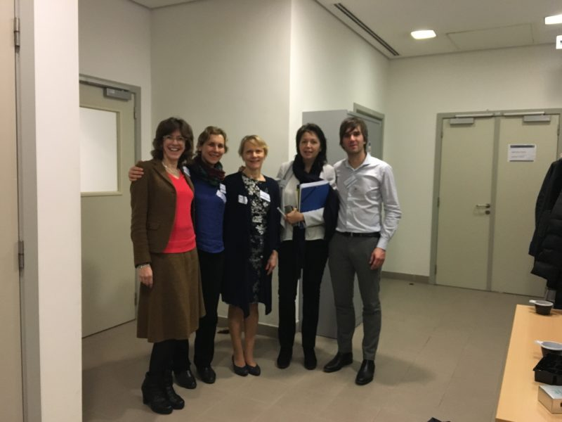Knowledge Alliance kick-off meeting, Brussels, Erasmus+, PEOPLE project