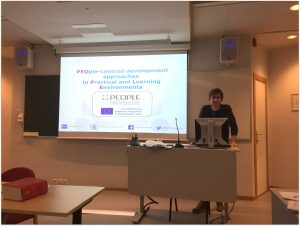 PEOPLE project, Erasmus+, Knowledge Alliances, Bergen, Norway, Energy Impacts, conference, presentation
