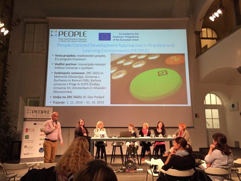 Volunteering, roundtable, event, PEOPLE project, Erasmus+, ZRC SAZU, Dan Podjed