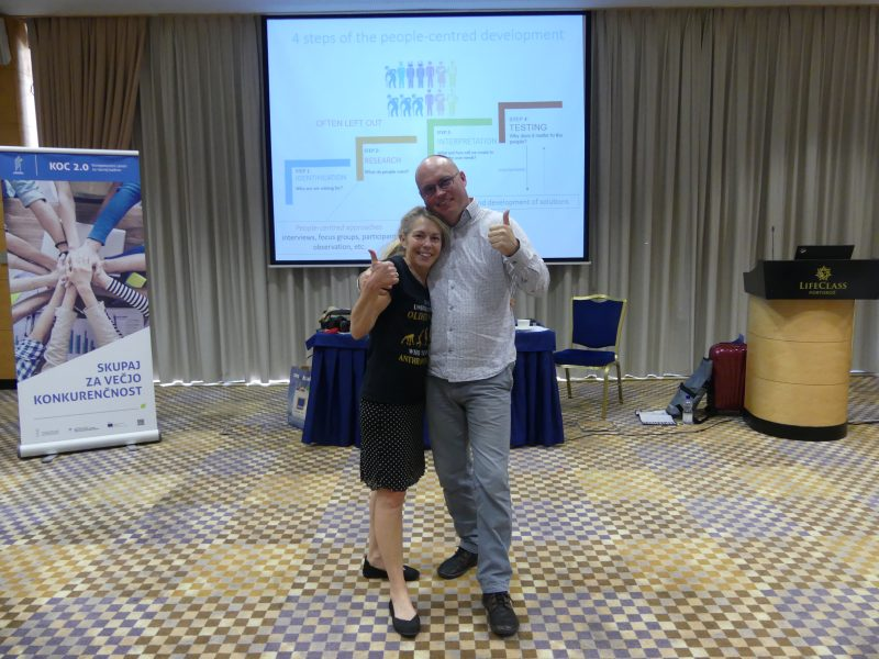 training, Slovenia, PEOPLE project, Erasmus+, Anna Kirah, Dan Podjed, anthropologist, industry, business anthropology