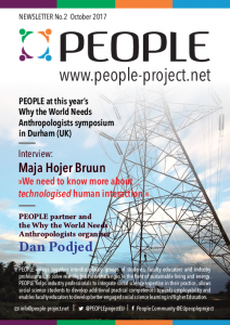 PEOPLE project, Newsletters, Newsletter No. 2, Erasmus+, Erasmus Plus, Why the World Needs Anthropologists, Durham, Maja Hojer Bruun, Dan Podjed
