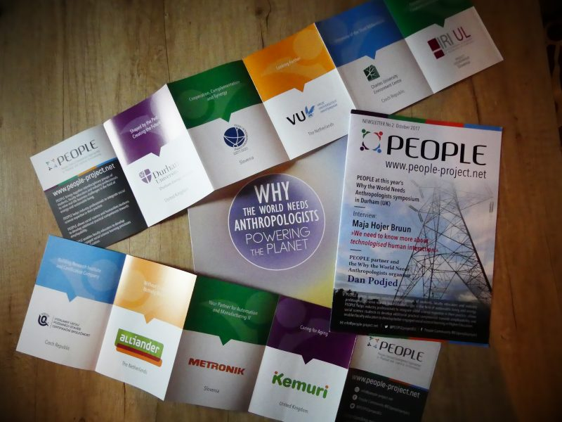 PEOPLE project, Erasmus+, Newsletter, Flyer