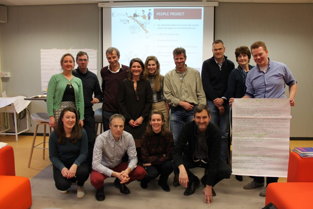 PEOPLE project, PEOPLE training for industry professionals, VU Amsterdam, Alliander, people-centred approaches