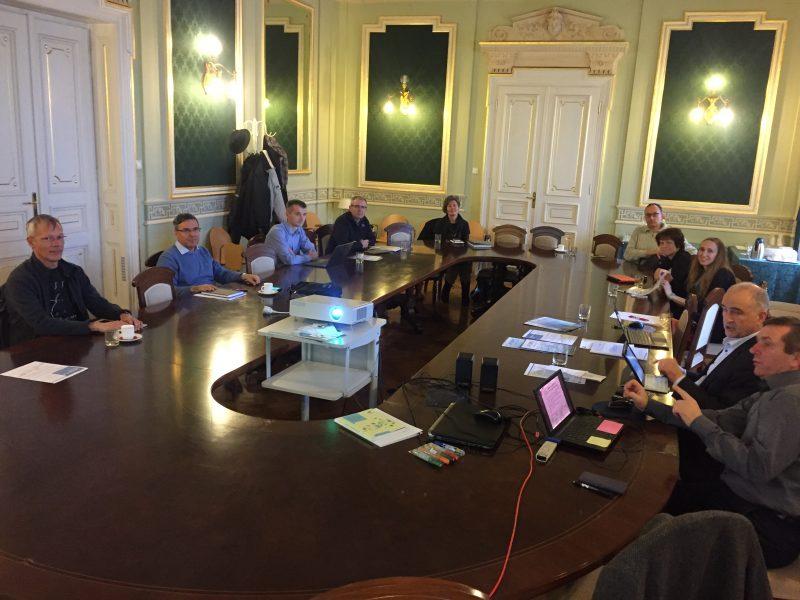 IRI UL Expert Council Meeting, University of Ljubljana, PEOPLE project presentation, stakeholders, industry-university cooperation