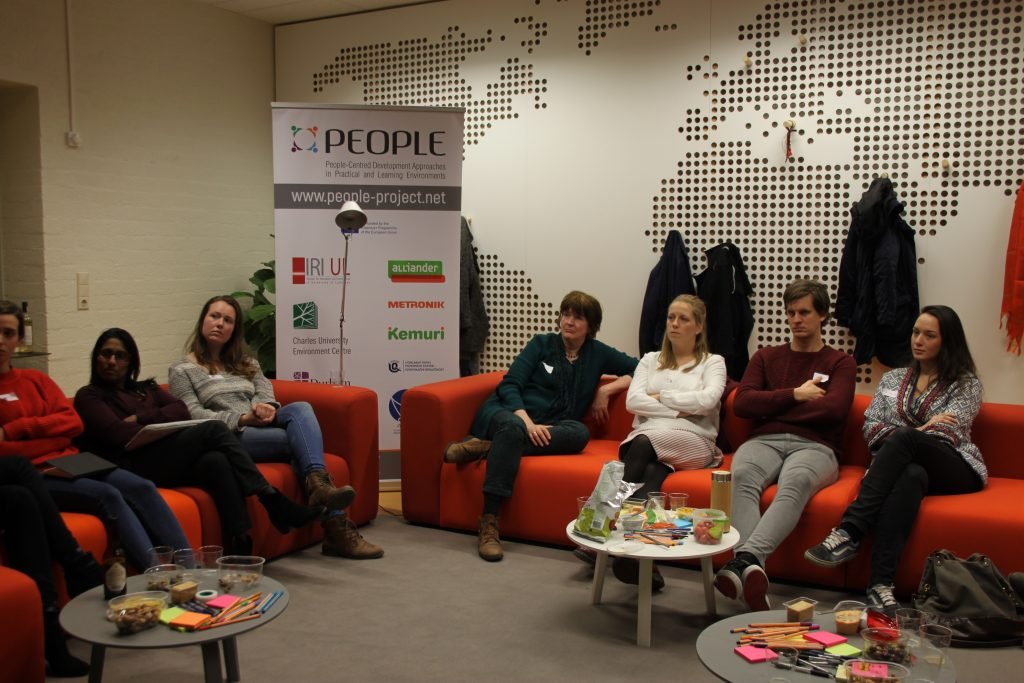 Sustainable Café, PEOPLE project, EthnoBorrel, ethnography, sustainability, event, discussion
