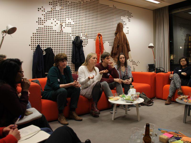 Sustainable Cafe, PEOPLE project, VU Amsterdam, EthnoBorrel, ethnography, sustainability