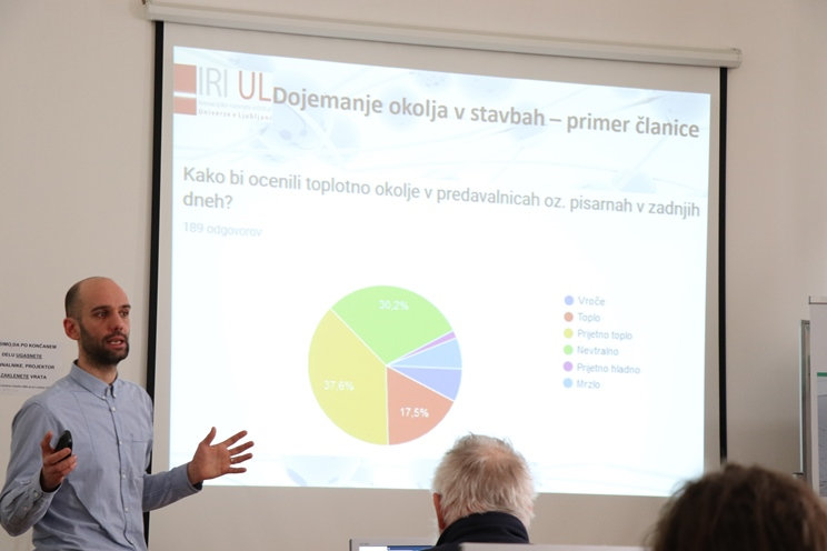 Jure Vetršek, IRI UL, trainign, MePIS; energy accountancy, energy information system