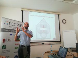 GREB, Erasmus+, PEOPLE Community, workshop, training, lecture, Jure Vetršek, IRI UL