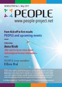 PEOPLE project, Newsletters, Newsletter No. 1, Erasmus+, Erasmus Plus, Anna Kirah, Ellen Bal, first results, energy efficiency, sustainable living