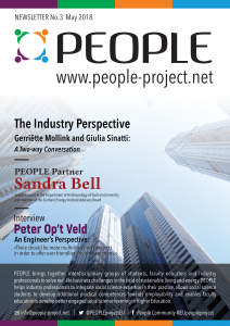 PEOPLE project, Newsletters, Newsletter No. 3, people-centred design, people-centred development, Erasmus+, industry, anthropology, Sandra Bell