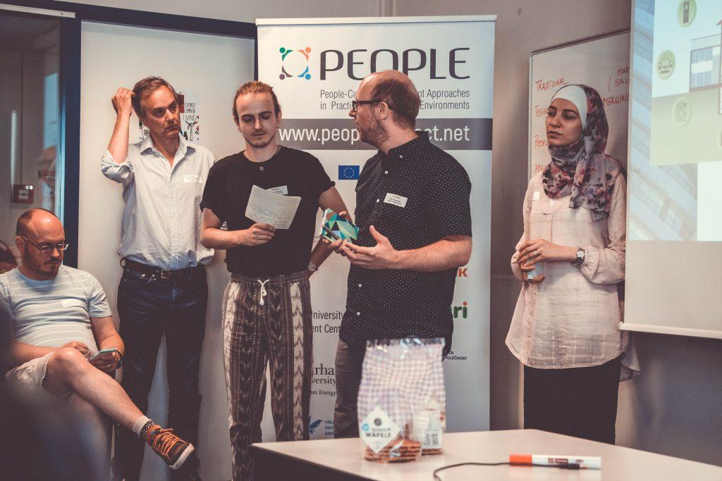 UK PEOPLE case study, presentation, Co-Creation Camp, Amsterdam, PEOPLE project, Erasmus+, Kemuri, Durham Energy Institute, Durham University