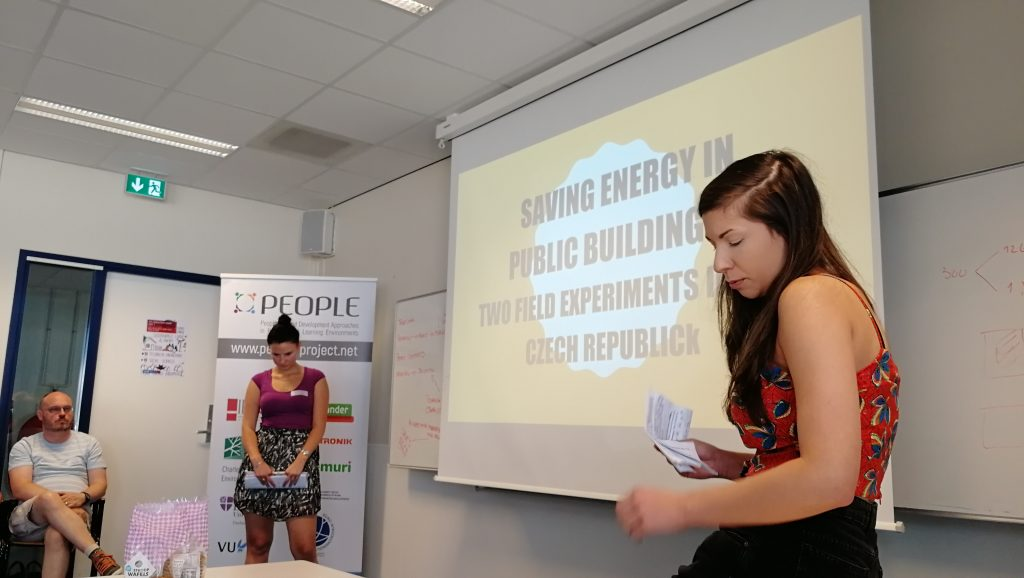 Czech PEOPLE case study, PEOPLE project, Erasmus+, Co-Creation Camp, Amsterdam, presentation