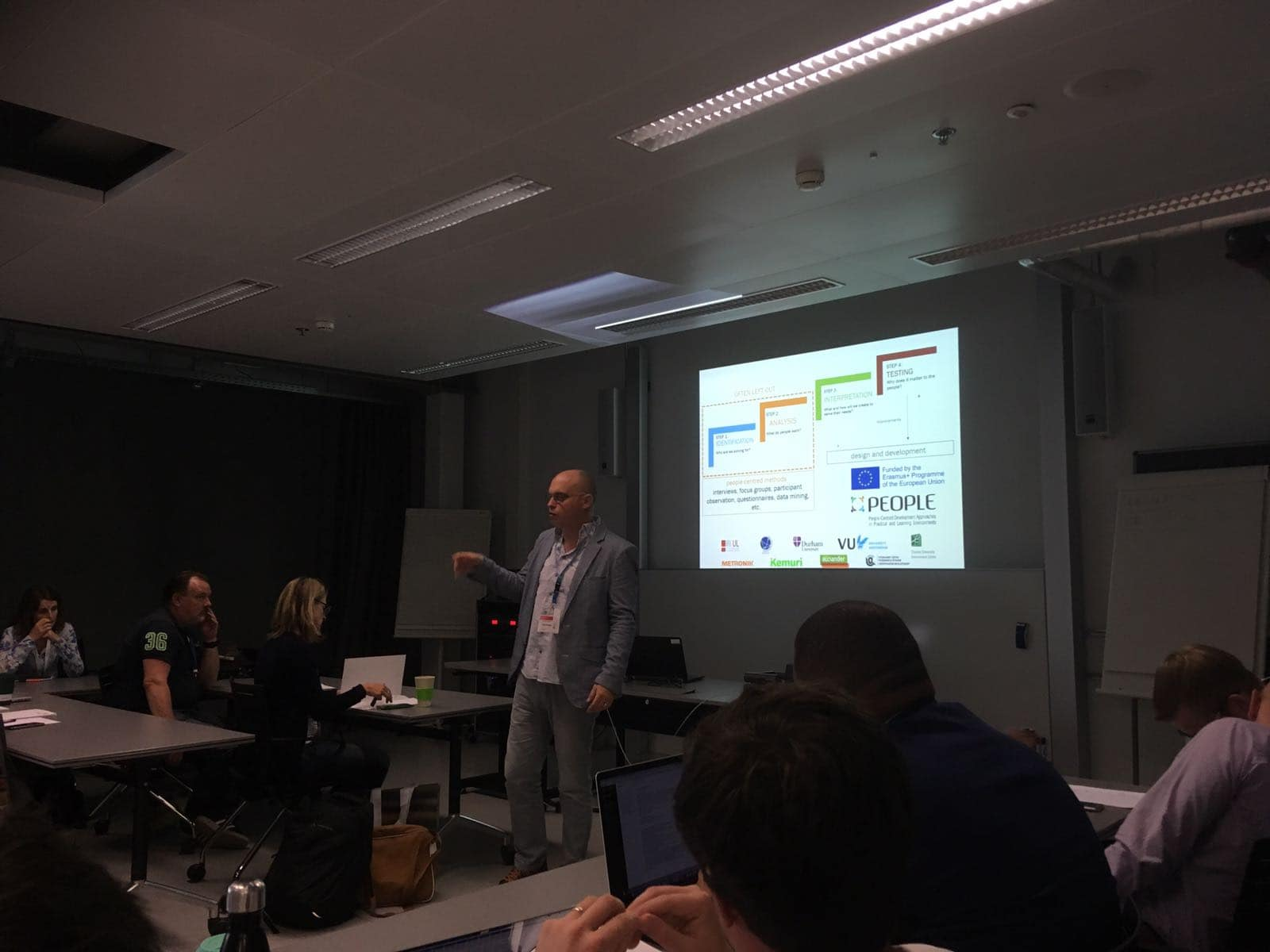 PEOPLE presented at Behave 2018 conference in Zurich