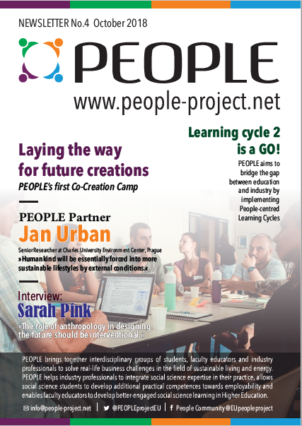 PEOPLE project, newsletter, newsletters, people-centred development, deign, front page, No. 4, October 2018