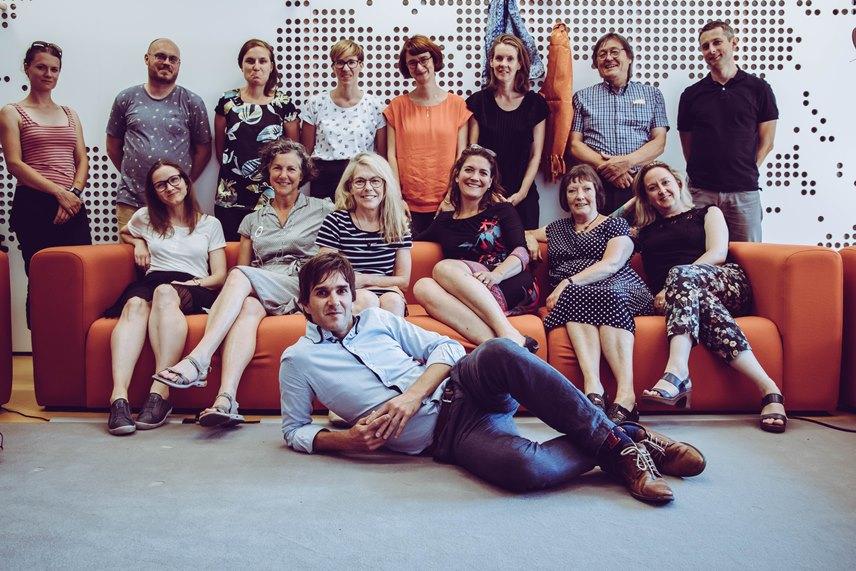 PEOPLE project, Erasmus+, team, team members, consortium meeting, Amsterdam, 2018