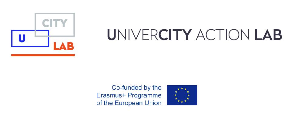 UCity Lab, UniverCity Action Lab, Erasmus+, Strategic Partnerships, logo