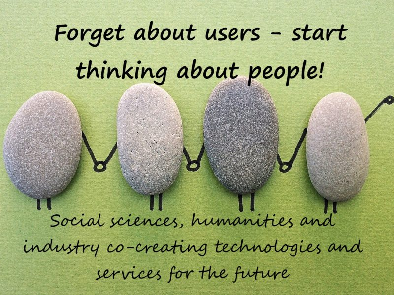 PEOPLE project, Erasmus+, Forget about users - start thinking about people, people-centred, design anthropology, emerging technologies, co-creation, event, symposium, PEOPLE project symposium
