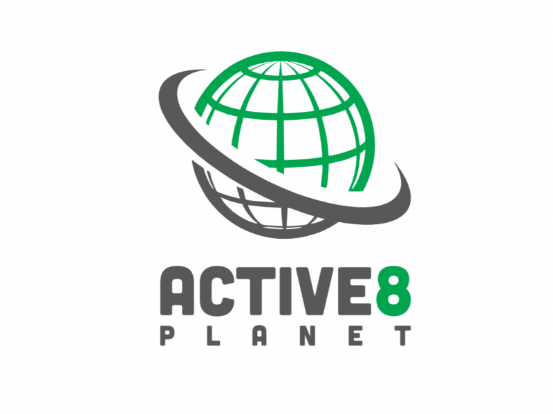 Active-8-Planet, logo