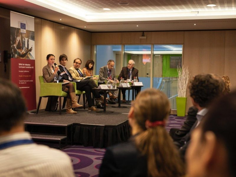 curriculum guidelines, skills for industry, competences, PEOPLE, Erasmus+, EASME, conference, Brussels
