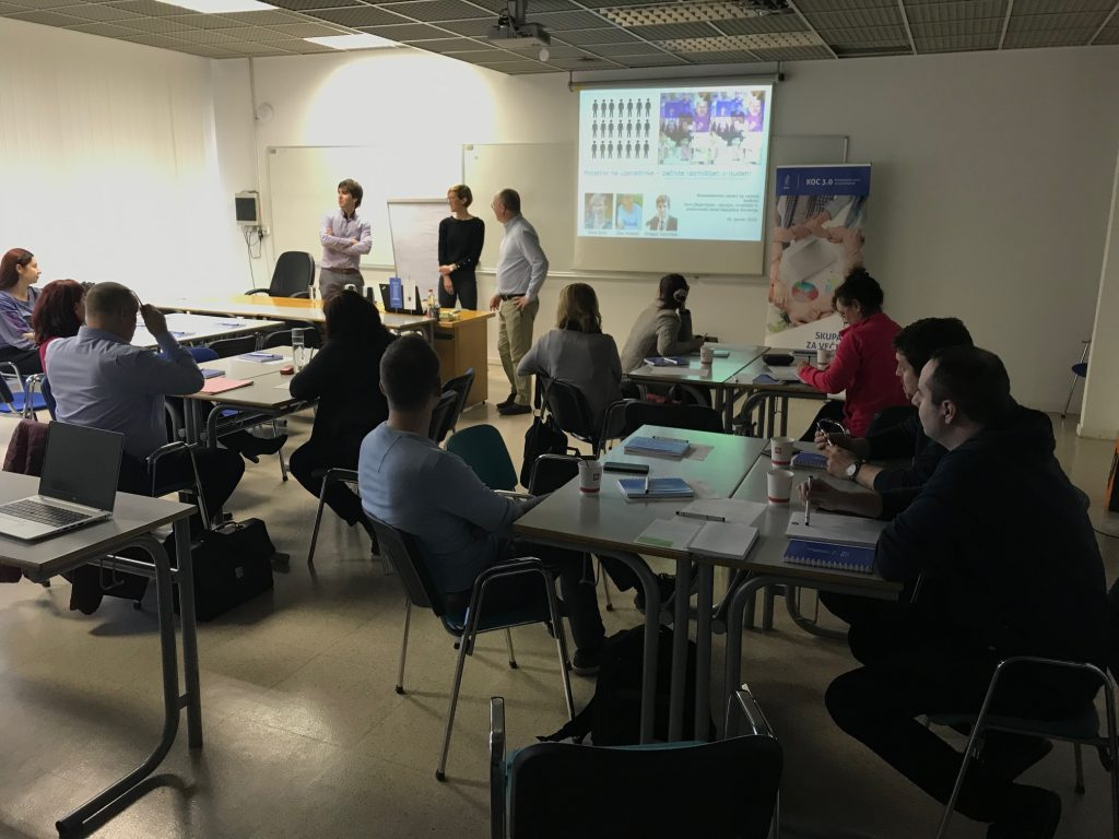 workshop, people-centred development, approach, Sara Arko, Gregor Cerinšek, Dan Podjed, KOC 2.0, Kompetenčni centri za razvoj kadrov, delavnica
